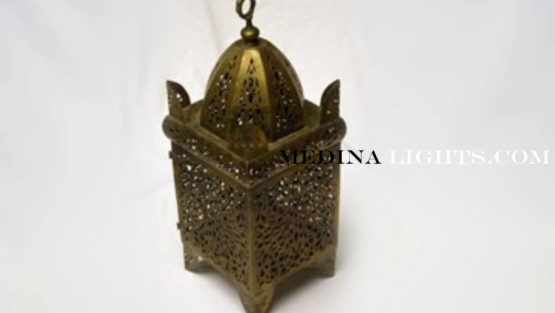 Brass Lamp - Moroccan Lighting, Moroccan Lanterns, Moroccan Lamps, Moroccan Chandeliers
