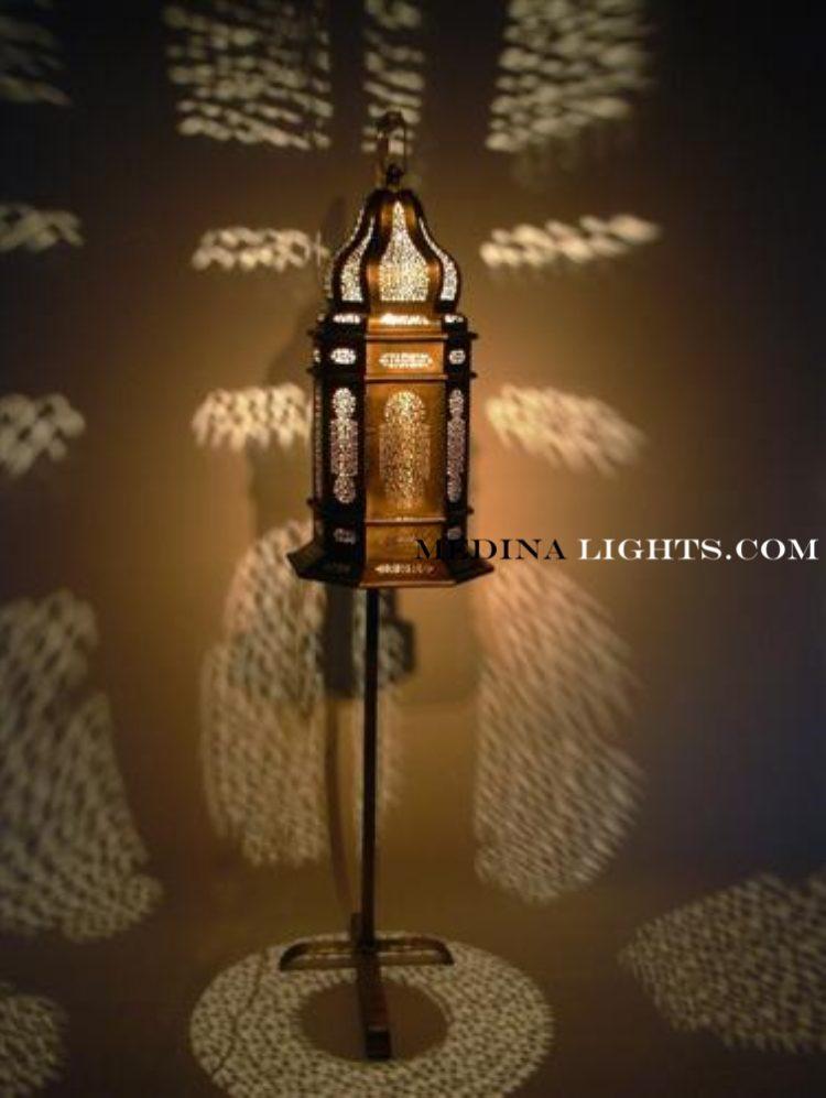 Brass Lamp 14