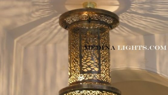 Brass Pendant - Moroccan Lighting, Moroccan Lanterns, Moroccan Lamps, Moroccan Chandeliers