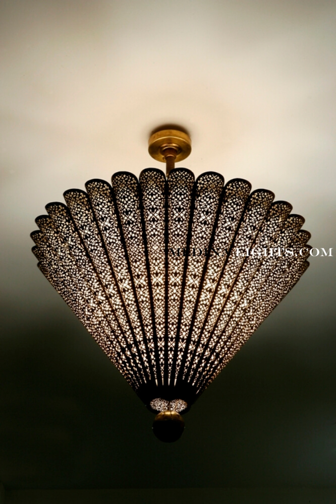 Brass Chandelier 61