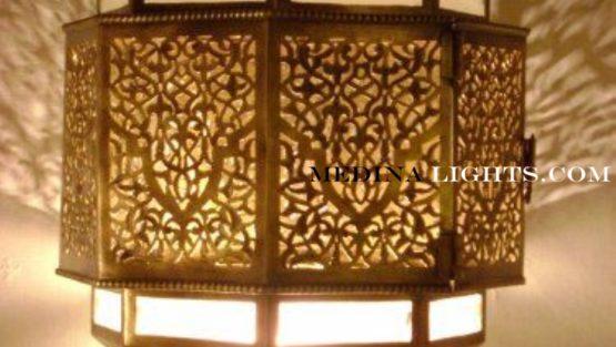Glass Applique - Moroccan Lighting, Moroccan Lanterns, Moroccan Lamps, Moroccan Chandeliers