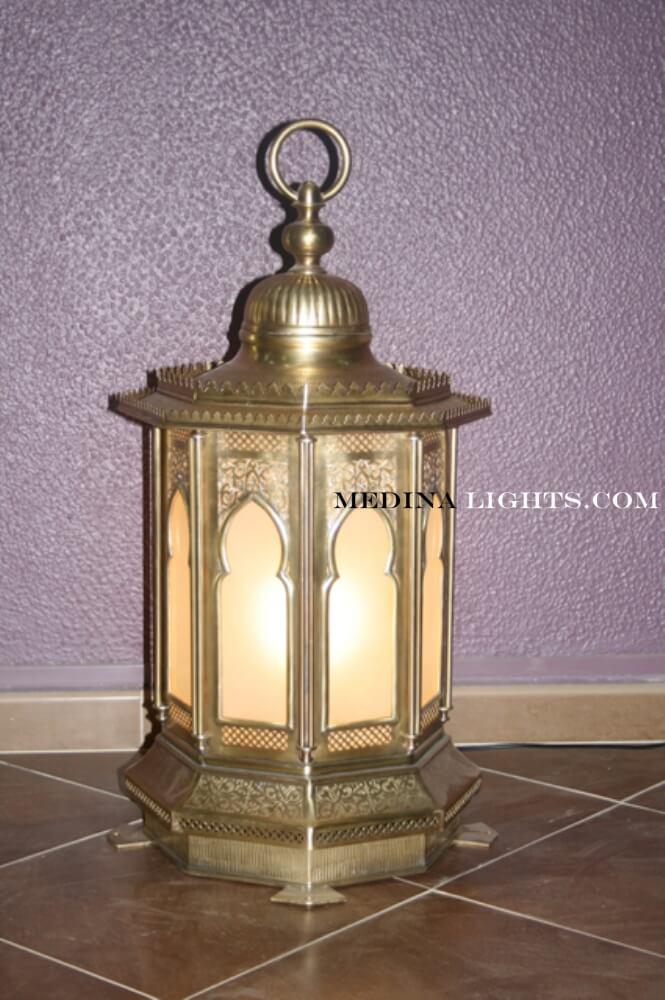 Glass Lamp 12
