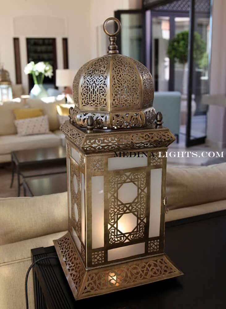 Glass Lamp 19