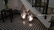 Glass Lamp - Moroccan Lighting, Moroccan Lanterns, Moroccan Lamps, Moroccan Chandeliers