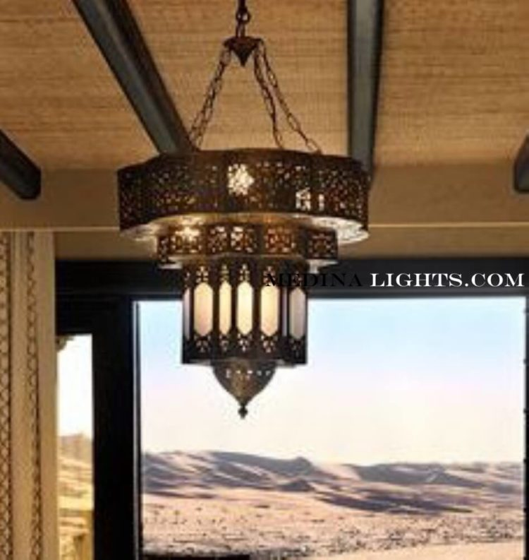 Glass Chandelier 75