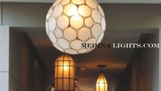 Glass Pendant - Moroccan Lighting, Moroccan Lanterns, Moroccan Lamps, Moroccan Chandeliers