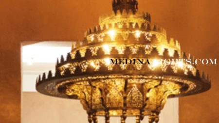 Large Chandelier - Moroccan Lighting, Moroccan Lanterns, Moroccan Lamps, Moroccan Chandeliers